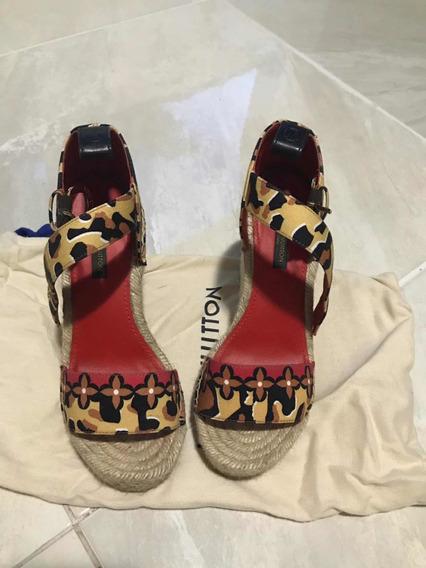 Zapatillas Plataformas Originales Louis Vuitton
