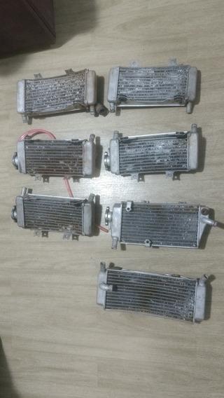 Radiador Esquerdo Ou Direito Crf 250r 250x 450r 450x Kx 250f
