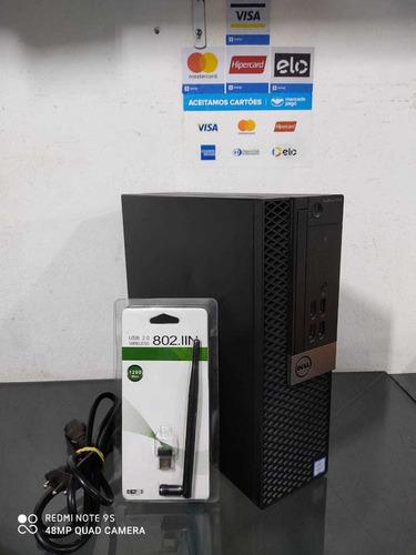 Cpu Dell Optiplex 3040 Core I5 6500+8gb Ram+hd 500gb+wi-fi