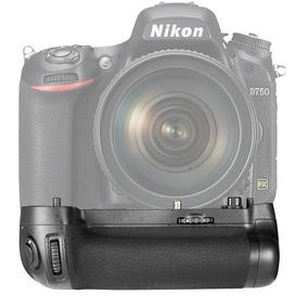 Grip Punho Bateria Meike Para Câmera Nikon D750 Mb-d16
