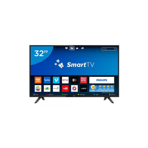 Tv Philips 32 Led Smart - Hd Ultra Slim Hdmi 32phg5813/78