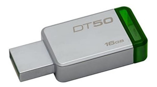 Memoria Usb 16gb 3.1/3.0/2.0 Kingston Dt50 Original