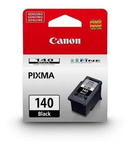 Cartucho De Tinta Canon Preto Pg-140 - Mg3110, Mg3210...