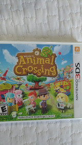Animal Crossing: New Leaf Para 3ds/new3ds/2ds Usa Region