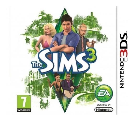 3ds The Sims 3 Novo Lacrado