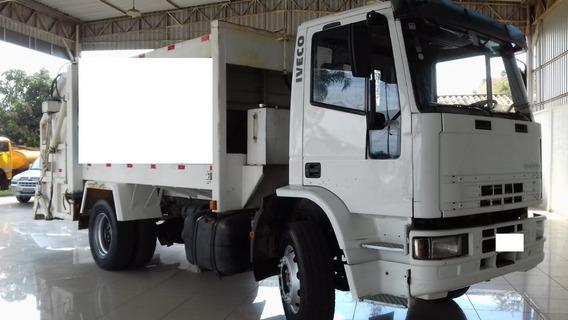 Caminhão De Lixo Iveco 170 E 22 2008/2009