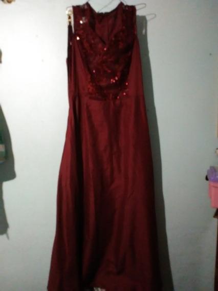 Vestido Largo Para Fiesta Formal Talla L