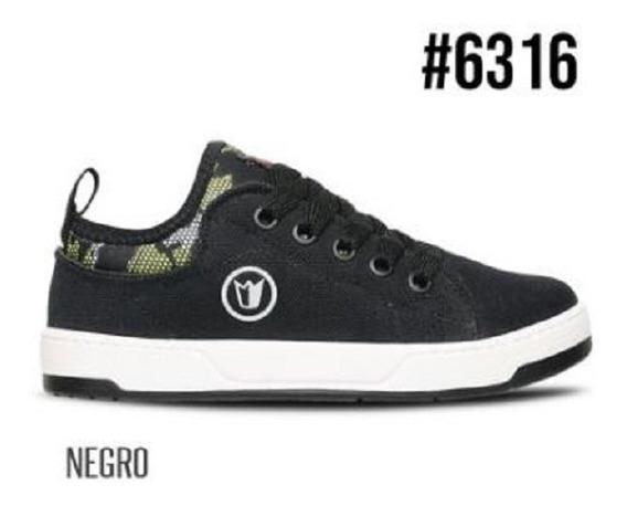 Prowess #6313 - Zapatillas Cordón Negro