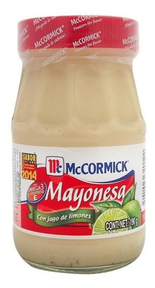Mayonesa Mccormick Con Jugo De Limón 190 Gr