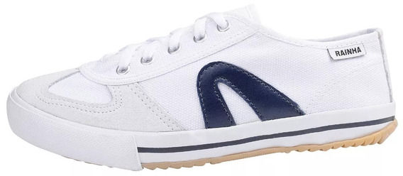 Tenis Rainha Voley Branco/azul