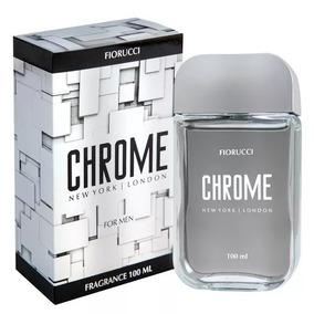 Perfume Masculino Chrome Fiorucci Deo Colônia 100ml