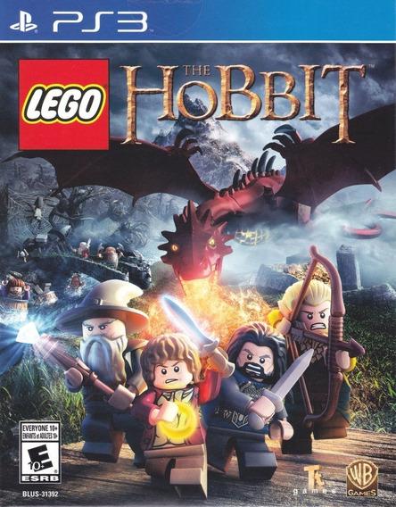 Lego Hobbit Original Ps3 Midia Fisica