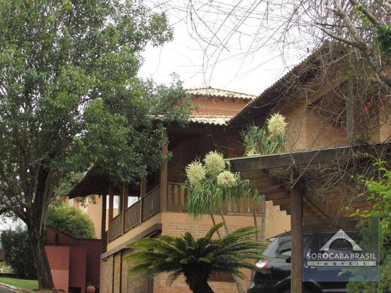 Sobrado Com 6 Dormitórios À Venda, 1500 M² Por R$ 4.110.000,00 - Condomínio Village Vert I - Sorocaba/sp - So0102