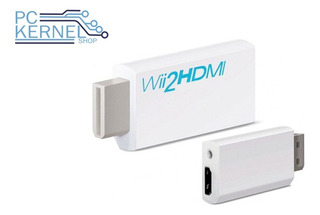 Adaptador Hdmi Para Nintendo Wii Full Hd 1080p Con Audio