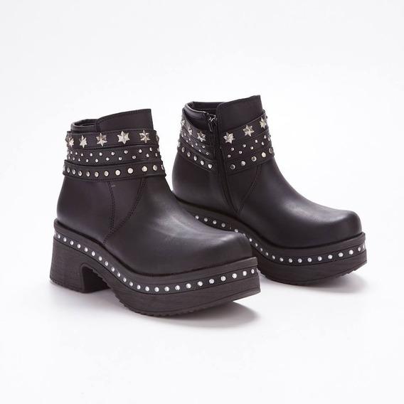 Botas Borcegos Mujer Cuero Savage Art Sofi-73 Zona Zapatos
