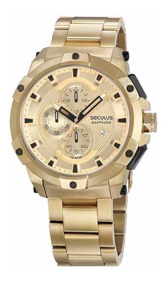 Relógio Seculus Ouro