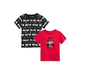 Camiseta Manga Curta 12 Meses First Impressions 2 Peças