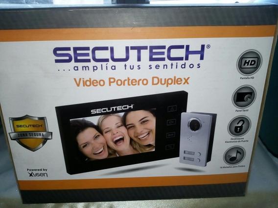 Video Portero Dual Secutech Vision Nocturna Intercomunicador