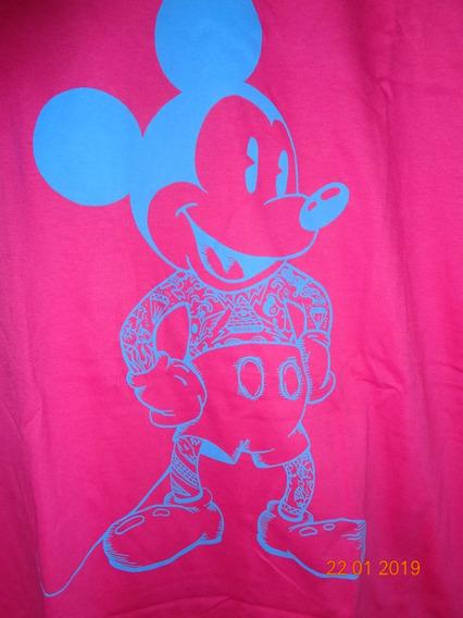 Camiseta Mickey Mouse Tatuado Tattoo Piercing 4:20 - Rasta