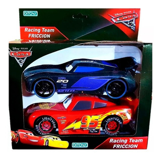 Cars 3 Auto A Fricción Pack X 2 Racing Team Original Ditoys