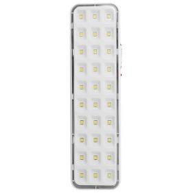 Luminária Luz Emergência Kit 6 Und 30 Leds Autovolt