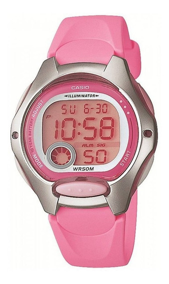 Relógio Casio Digital Mini Feminino Lw200 Original