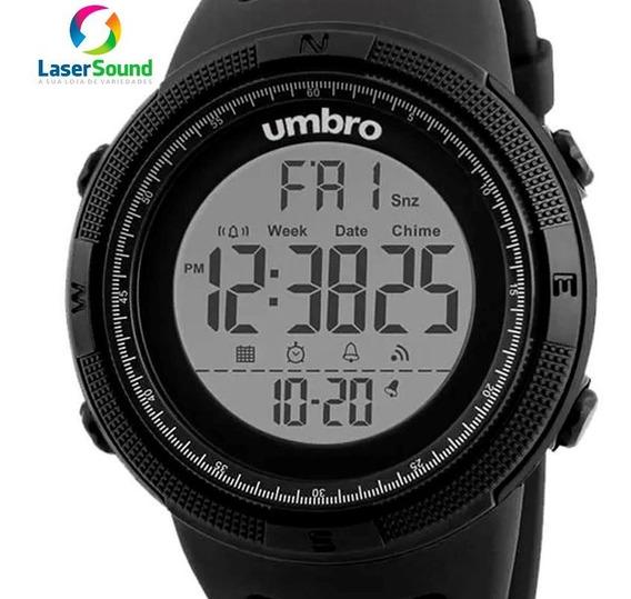 Relógio Umbro Masculino Umb-120-1 C/ Garantia E Nf