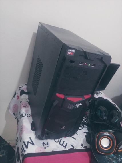 Computador Gamer Amd Fx 4800 + Radeon R7 260x + Periféricos