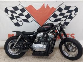 Harley-davidson Sportster Cafe Racer Hermosa 883 C.c. 2005