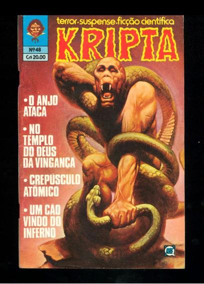 Kripta Nº 48 - Editora Rge - Ano De 1980