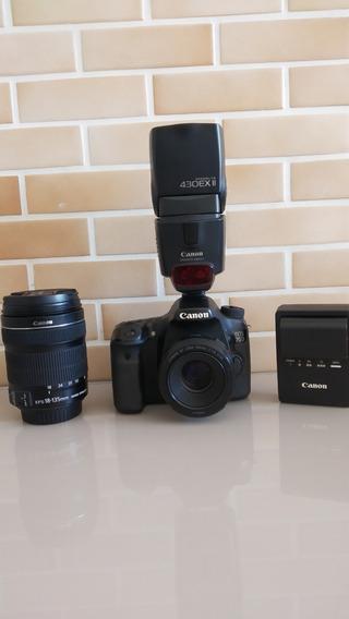 Câmera Profissional Canon 70d Usada