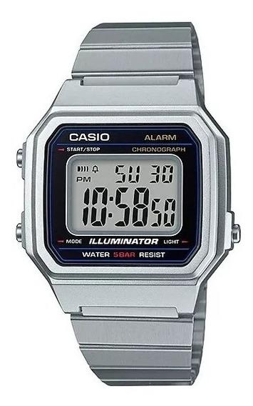 Relógio Casio Prata Original Feminino Vintage B650wc 5adf