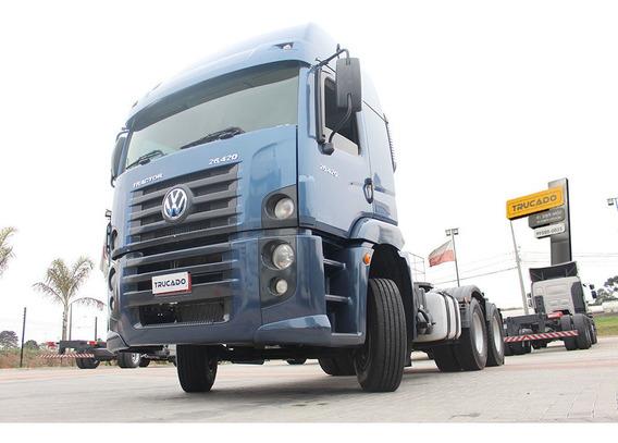 Vw 26420 2014 6x4 Teto Alto = Mb 2651 Scania 480 420 460 400