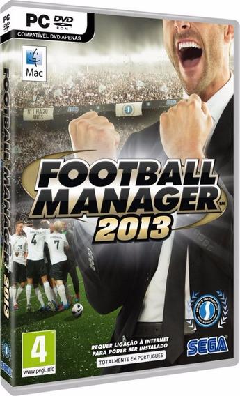 Football Manager 2013 Pc - Mídia Física Ou Digital