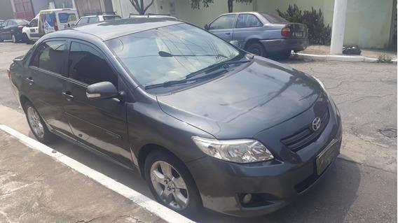 Toyota Corolla Xei Automático Cinza Flex Completo - 2011