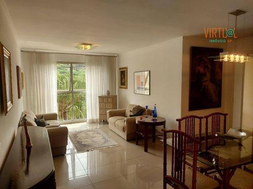 Imagem 1 de 17 de Apartamento Com 3 Dormitórios À Venda, 80 M² - City América - São Paulo/sp - Ap0561