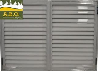 Postigo De Abrir 150x150 Aluminio Blanco