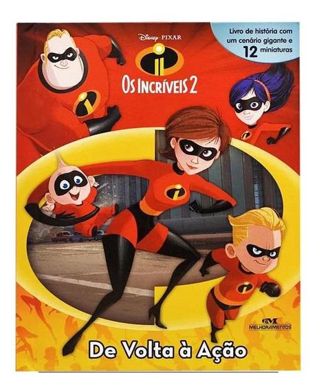 Livro Infantil Pixar Os Incriveis 2 De Volta A Ação