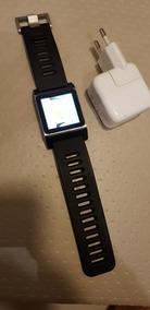 Apple iPod Nano 6° Geração + Pulseira Para Usar Como Relógio