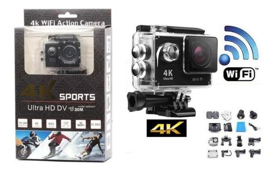 Camera Sports Go Pro Ultra 4k Hd 1080p Wifi Moto, Bike, Merg