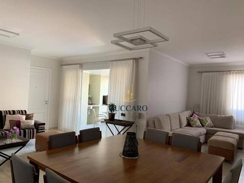Apartamento Com 3 Dormitórios ,3 Vagas Fixas, 142 M² Por R$ 1.100.000 - Vila Augusta - Guarulhos/sp - Ap14488