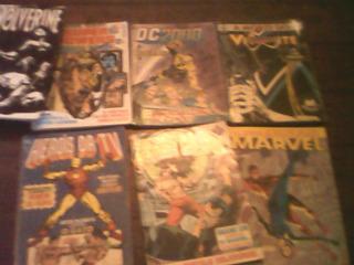 12 Hqs Marvel/dc Formatinho Editora Abril
