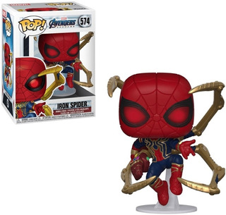 Funko Pop Iron Spider 574 Avengers Endgame Orig - Minijuegos