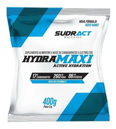 Isotônico Hydramaxi Sudract 400g Limão Bike Corrida