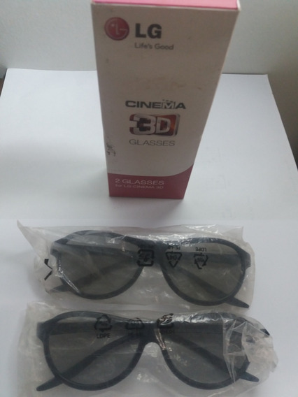 Oculos 3d Lg Tv 47lm4600 Original O Par!!!