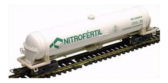 Vagón Cisterna Quimico Nitrofertil - Frateschi 2028 (brasil)