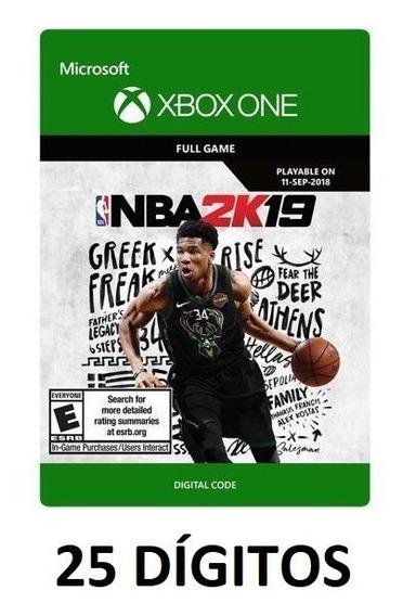 Nba 2k19 - Xbox One - Código 25 Dígitos - Envio Imediato