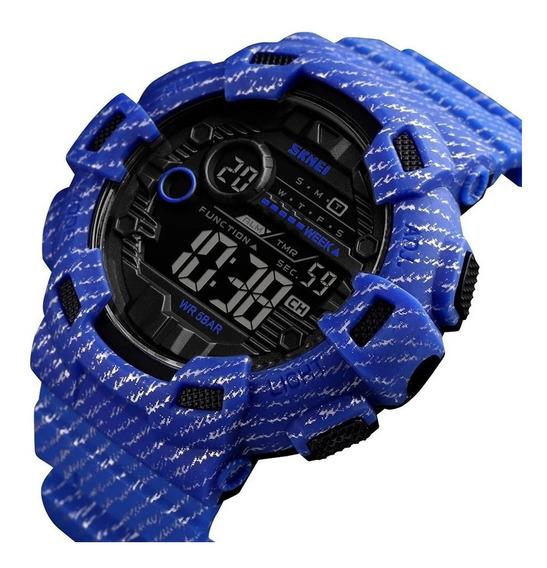 Relógio Masculino Esportivo Militar Skmei 1472 Promoção