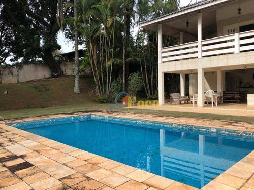 Imagem 1 de 30 de Chácara Com 4 Dormitórios À Venda, 1500 M² Por R$ 1.500.000,00 - Condominio Ville De Chamonix 1 - Itatiba/sp - Ch0205