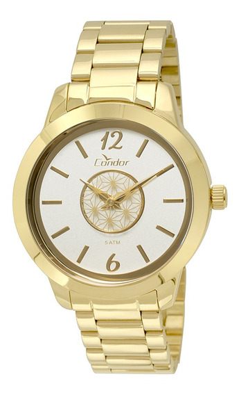 Relógio Condor Feminino Analógico Dourado Co2035kst/4b
